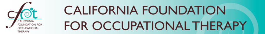 Occupational Therapy Schools In California >> California Foundation For Occupational Therapy Occupational
